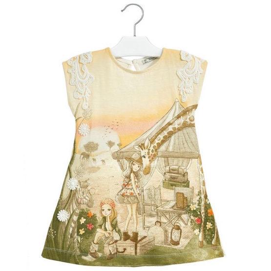 Платье летнее с узором Mayoral
